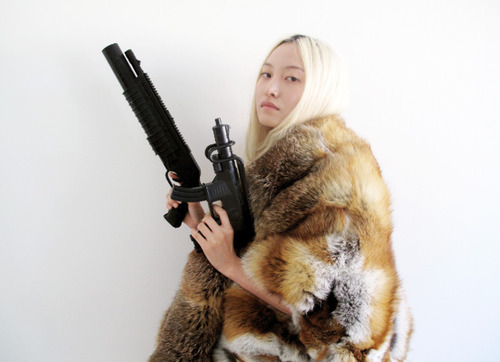 fur, guns and
