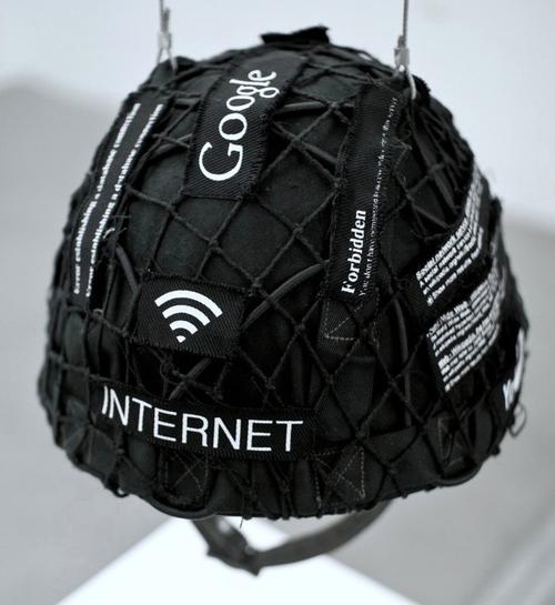 google helmet