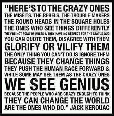 we see genius