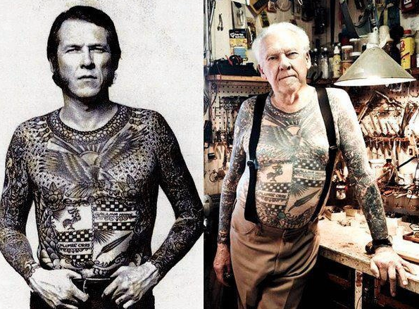 ageing tattoos