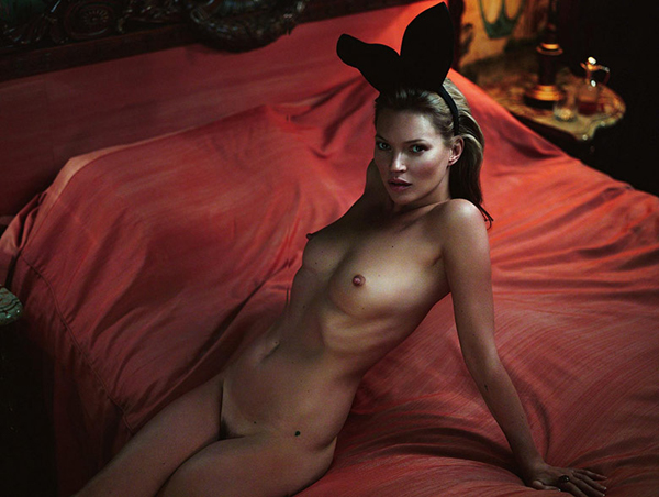 kate moss naked
