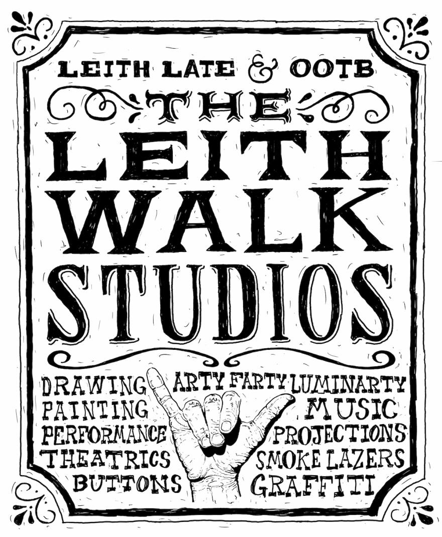 Leith Walk Studios, OOTB, Leith Late, Leith Late 16,