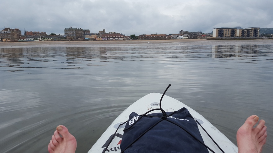 Sunday SUP at porty