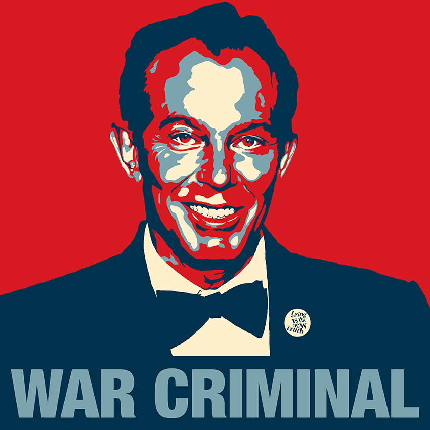 British War Criminal Tony Blair_shielyule