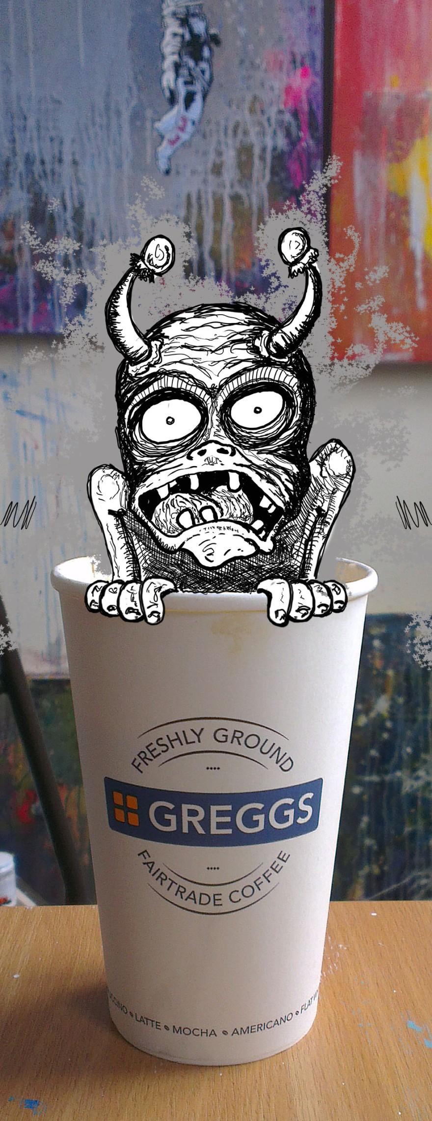 coffee-monster