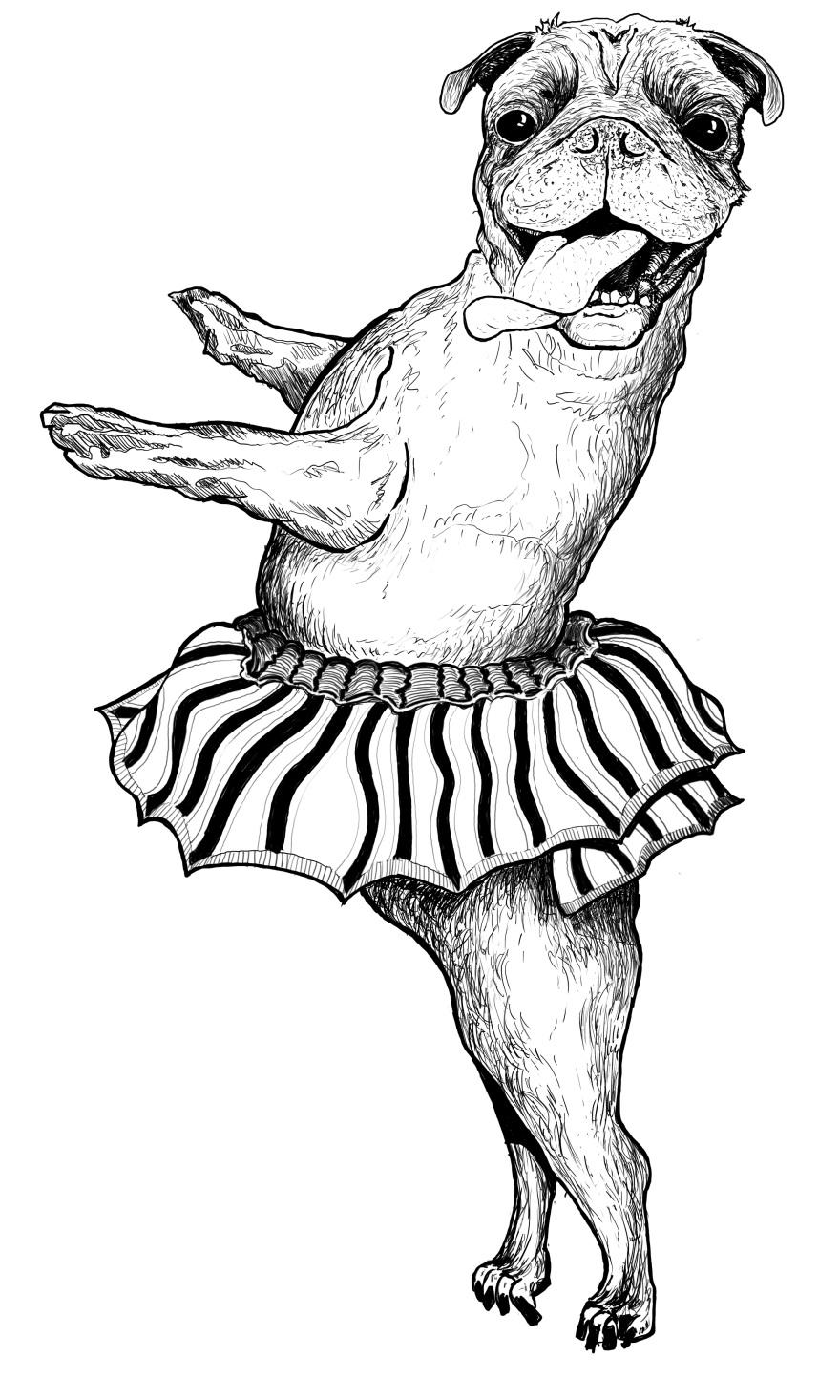 dancing-pug